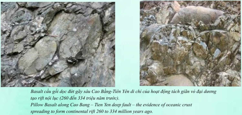 PILLOW BASALT ALONG CAO BANG-TIEN YEN DEEP-SEATED FAULT