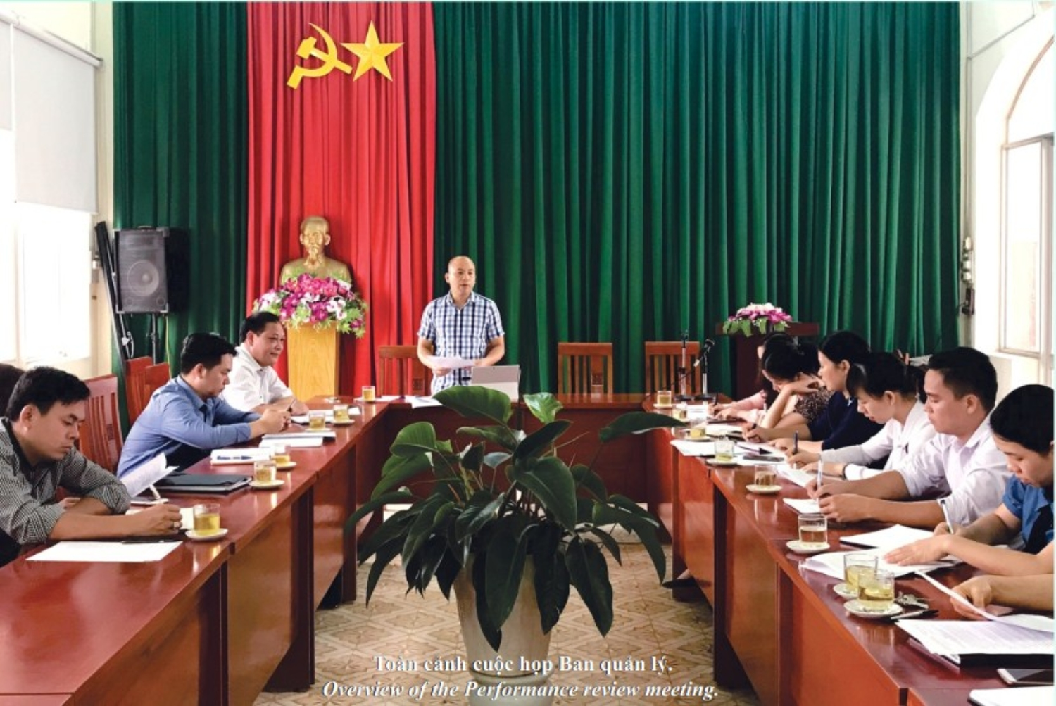 The Performance Review Meeting of Management board of Non nuoc Cao Bang geopark
