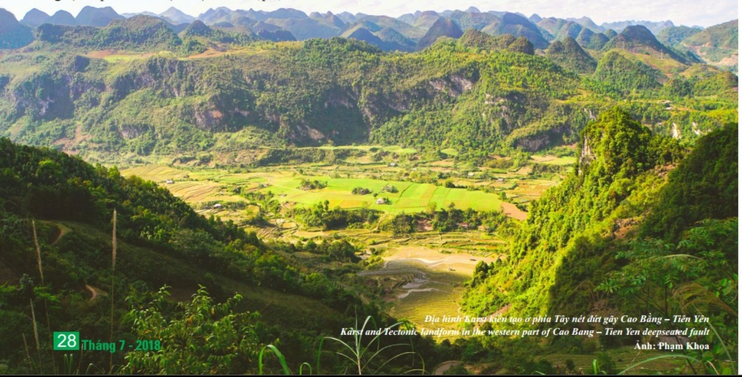 Karst and Tectonic landform heritages in Non nuoc Cao Bang UNESCO global geopark