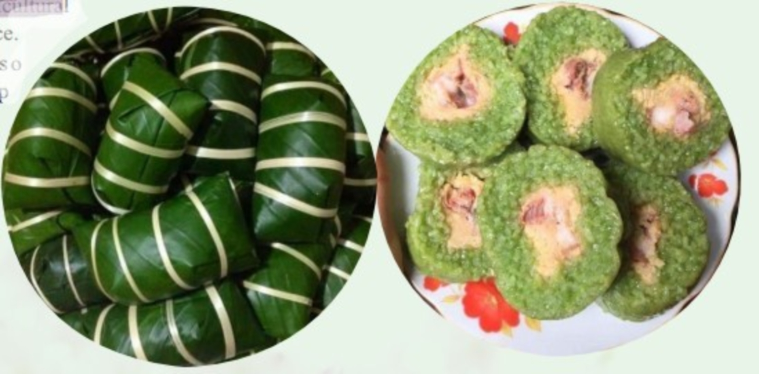 CHƯNG CAKE AND DÀY CAKE IN THE TRADITIONAL FESTIVAL OF TAY ETHNIC GROUP