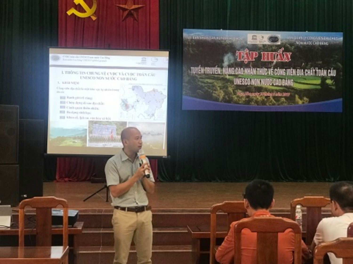 GEOPARK EDUCATION FOR COMMUNITIES IN PHUC HOA DISTRICT