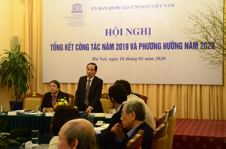 Đ/c Lê Hoài Trung, Ủy viên Trung ương Đảng, Thứ trưởng Bộ Ngoại giao phát biểu chỉ đạo tại Hội nghị.
