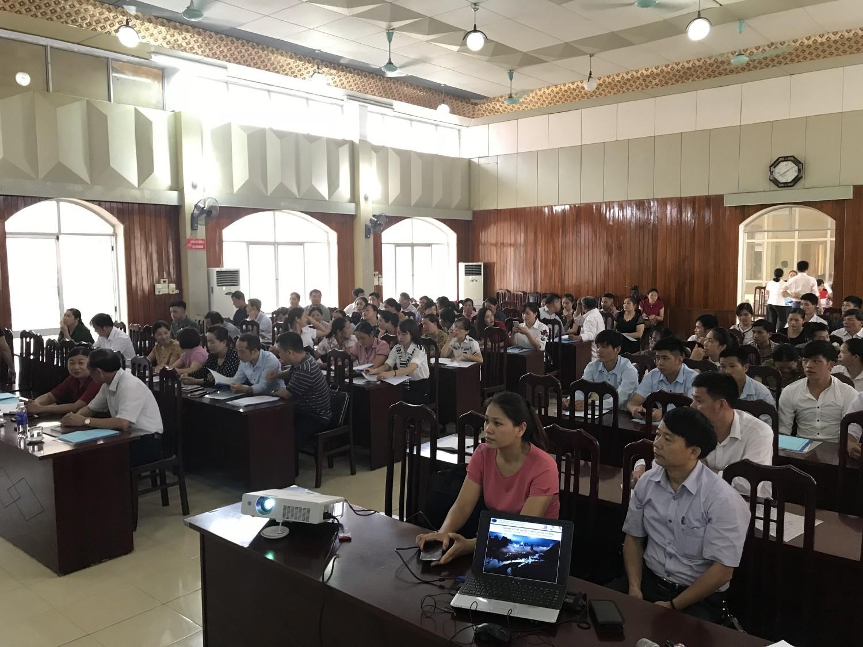 Tập huấn nâng cao năng lực cho mạng lưới đối tác CVĐC Non nước Cao Bằng tại Nguyên Bình.